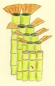 Bamboo cistern
