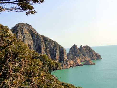 Hongdo Cliffs