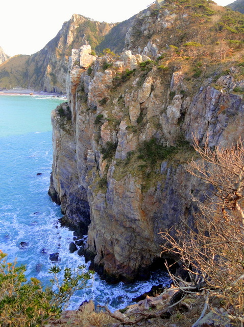 Cliffs on Hongdo