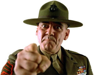 R Lee Ermey Yelling Motivational Drill Ser...