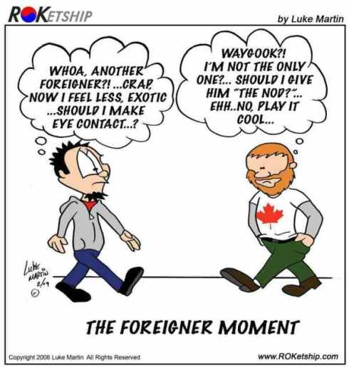 """Waygook"" means foreigner"