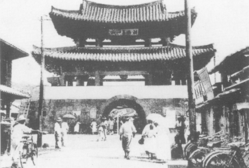 Pungnammun in the 19th century. Source.