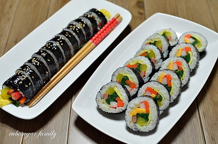 Make Your Own Car >> How to Eat a Triangle Kimbap | The Green-Walled Tower