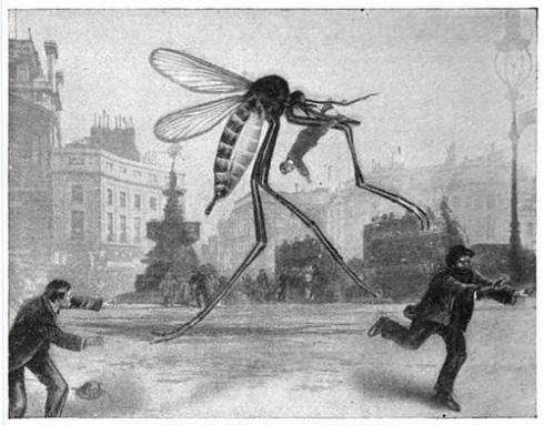 Giant mosquitoes suck.