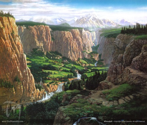 Rivendell, by Ted Nasmith