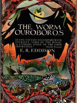 The Worm Ouroboros cover