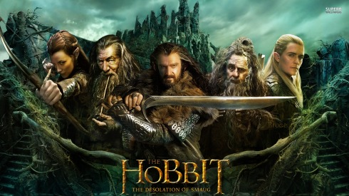 You know it's an epic movie, when the poster for the Hobbit doesn't even have the hobbit on it.
