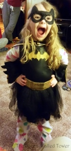 my little Batman ballerina