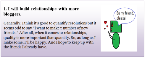 New Years Resolution 1
