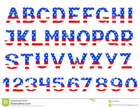 The current American alphabet [*]