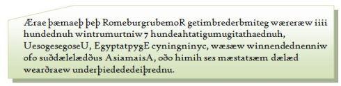 Old English Palindromes