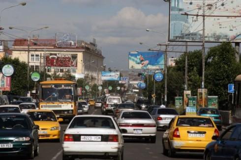 Ulaanbaatar traffic